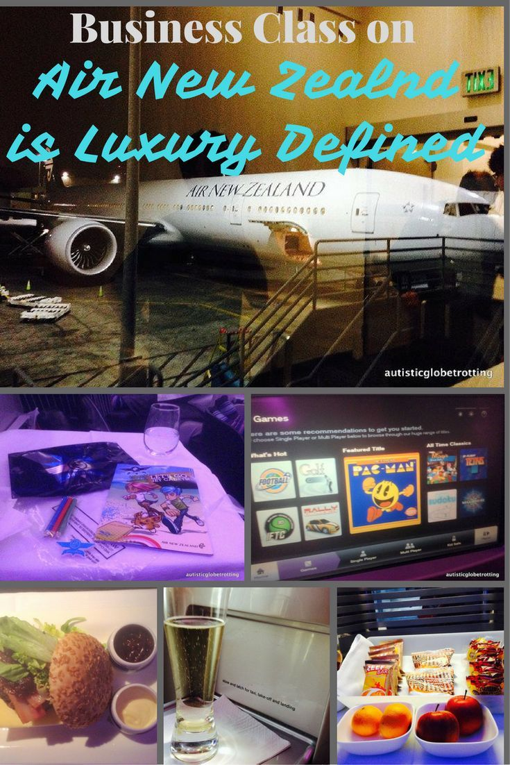 Business Class on Air New Zealand is Luxury Defined