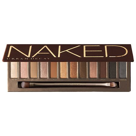 Shop Urban Decay's Naked at Sephora. The palette features 12 gorgeous neutral eyeshadows with a distinctly Urban look.