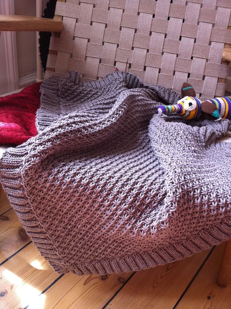290 best images about Free baby blanket knitting patterns. on Pinterest Fre...