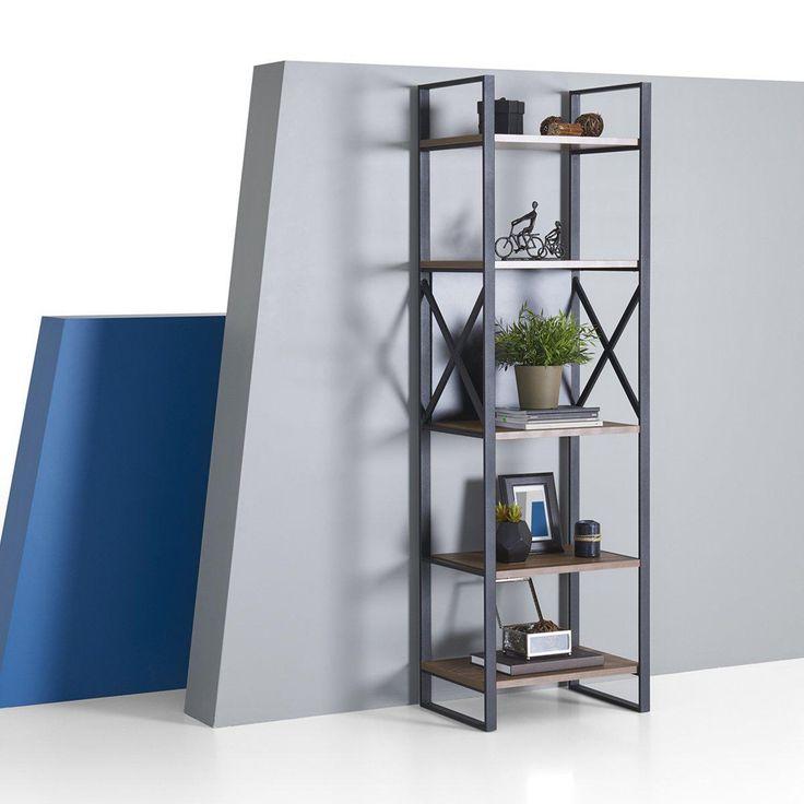 Berkeley Narrow Etagere Bookcase in 2019   Etagere ...