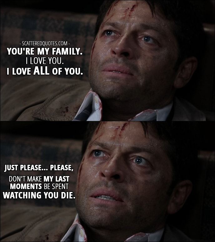 Supernatural Quotes Family Don T End With Blood: Best 25+ Best Supernatural Quotes Ideas On Pinterest