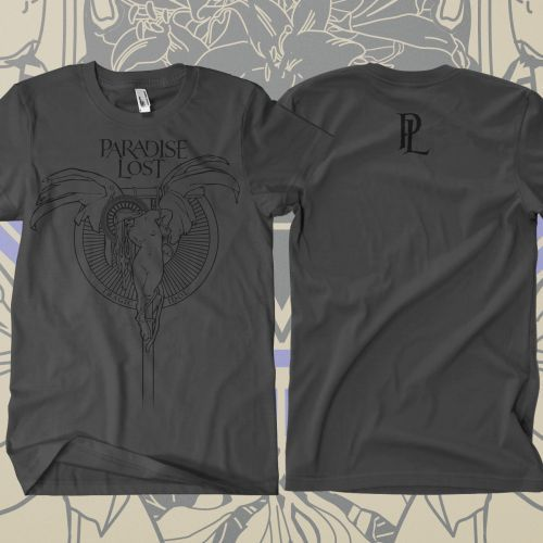 Paradise Lost Tragic Angel - Grey Tee for $19.95  http://www.jsrdirect.com/bands/paradiselost/paradise-lost-tragic-angel-grey-tshirt  JSR Direct is now the Official North American webstore for OMERCH! Your #1 online store to find Paradise Lost merchandise! #paradiselost #omerch #metal #bandmerch #merchandise #band #bands #metalbands #metalmerch