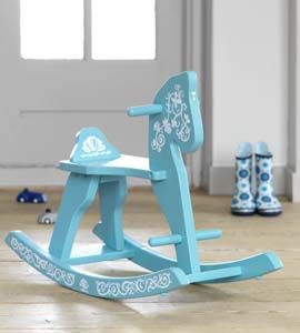 Simple design for a rocking horse... but is it too babyish (since the most use will be when the kiddo is a bit older)?