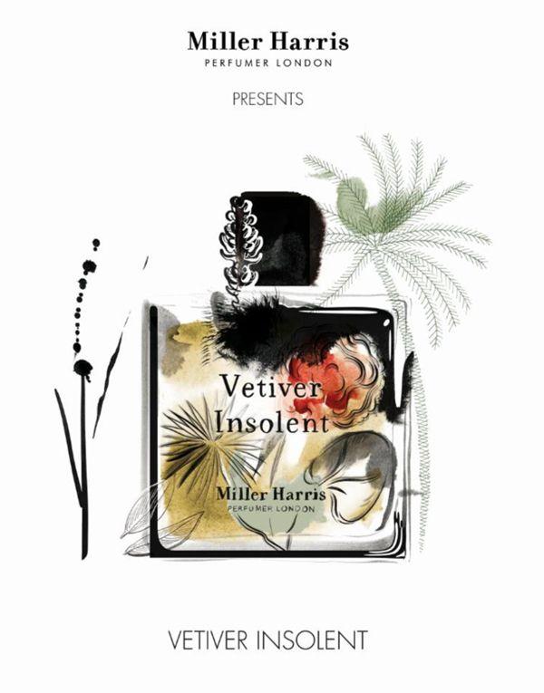 A New Fragrance by Miller Harris - Vetiver Insolent ~ New Fragrances