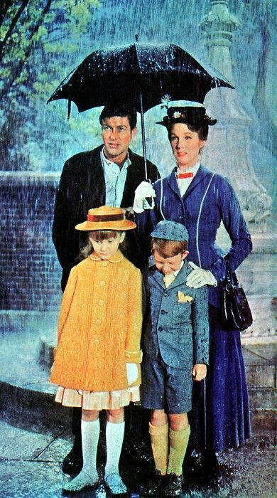The magical world of Mary Poppins. The film (hats off to the one and only Julie Andrews-she absolutely owned this movie) and book series continue to delight me to this day!