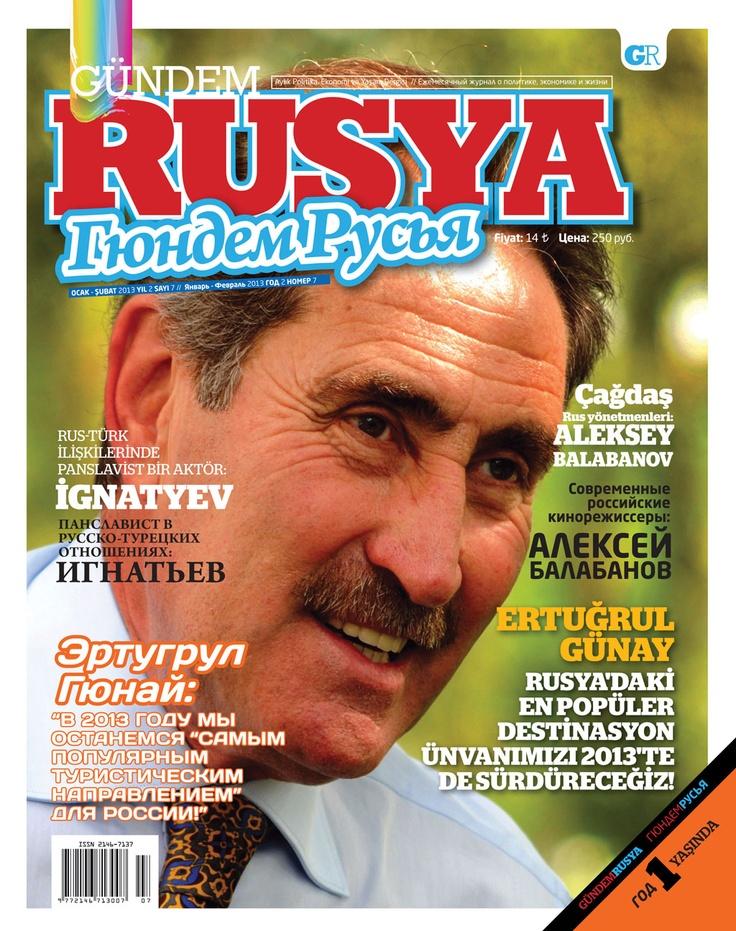 Gündem Rusya dergisi Ocak - Şubat sayısı yayında! Hemen okumak için: http://www.dijimecmua.com/gundem-rusya/    Gündem Rusya dergisini iPad (Dijimecmua HD) ve iPhone (Dijimecmua S) uygulamalarını indirerek okuyabilirsiniz.    Gündem Rusya Dergisi;  1 ay boyunca tüm sayıların dijital üyeliği 6 lira,  3 ay boyunca tüm sayıların dijital üyeliği 12 lira,  6 ay boyunca tüm sayıların dijital üyeliği 21 lira,  12 ay boyunca tüm sayıların dijital üyeliği 40 lira.
