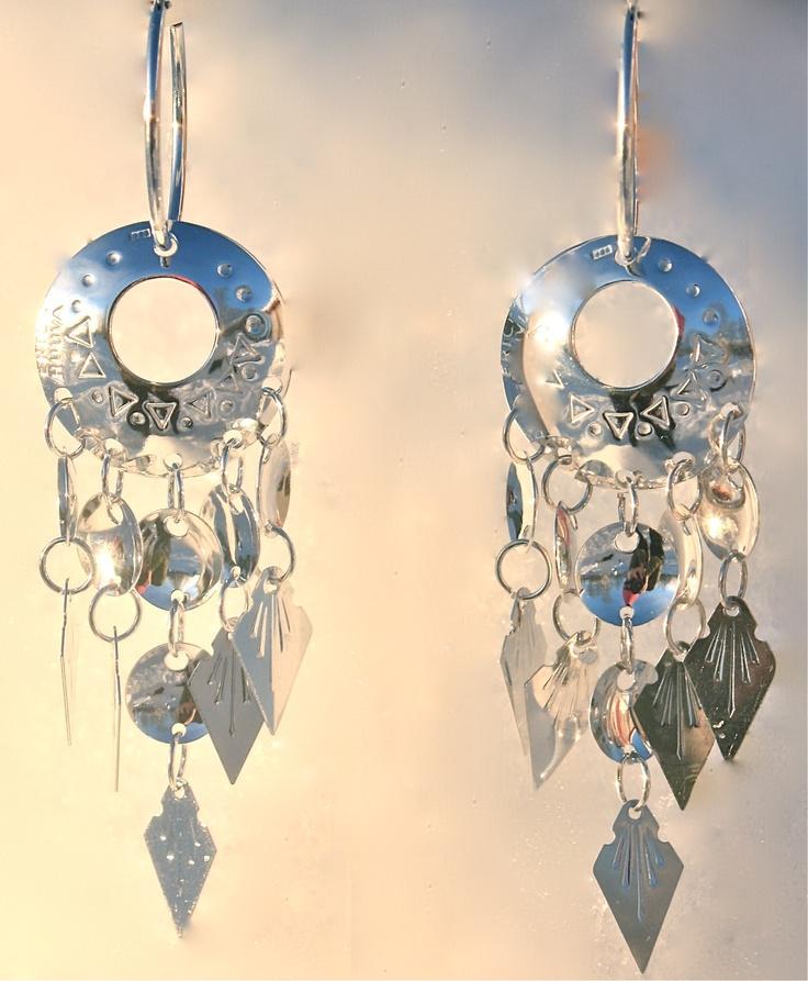"Modern ""Tradition"" - Saami Earrings by Erica Huuva"