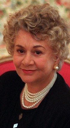 Dame Joan Plowright, actor, born in England.  Marvelous person and actress.