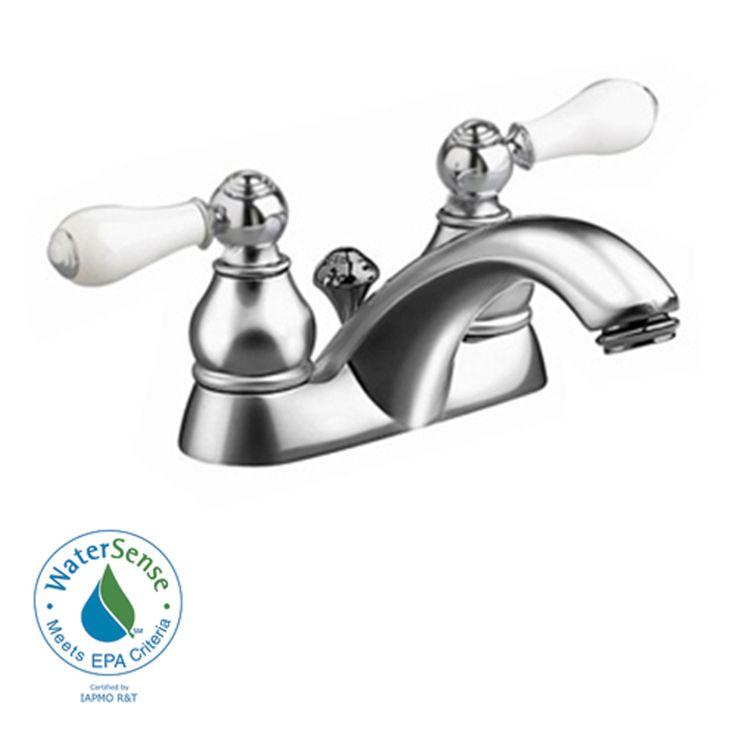 Inch Centerset Bathroom Faucet, American Standard Bathroom Sink Faucets