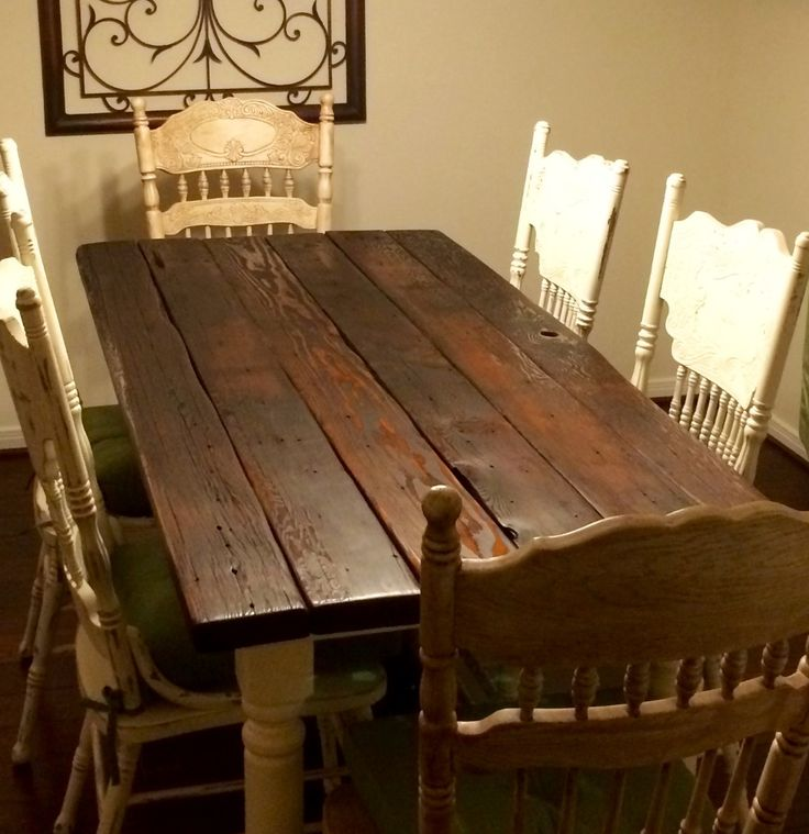 Farmhouse Table · Farmhouse TableRustic FurnitureTexas
