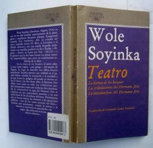 Telephone ConversationBy  Wole Soyinka This one stanza poem     Wole Soyinka s mother and father  Grace Eniola Soyinka and Samuel Ayodele  Soyinka  called