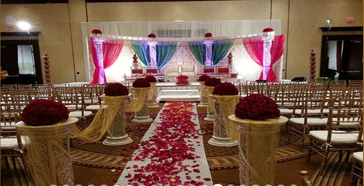 We are the leading service provider that specializes in offering world class services to make your occasion memorable. We provide amazing and attractive wedding reception designs.