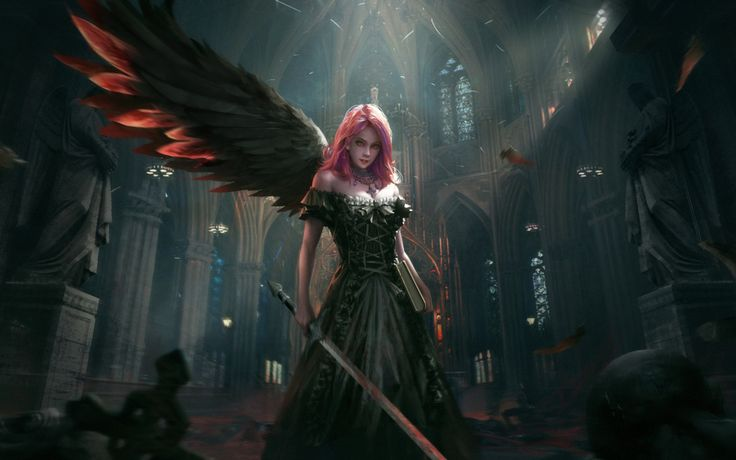Dark Angel Epic Artwork   Dark Angel Epic Artwork is an HD desktop wallpaper posted in our free image collection of fantasy wallpapers. You can download Dark Angel Epic Artwork...