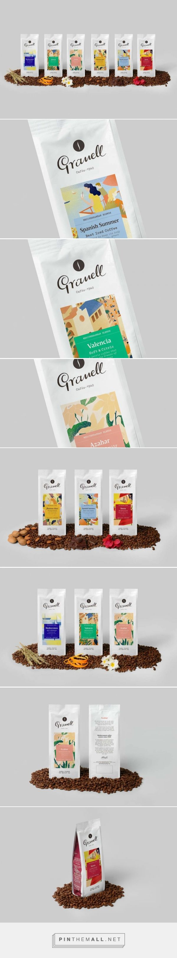 Granell Mediterranean Blends coffee by Firma PD