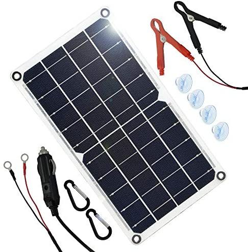 Tp Solar 10 Watt 12 Volt Solar Panel Car Battery Charger 10w 12v Portable Solar Trickle Battery Maintainer With In 2020 Solar Panel Charger 12 Volt Solar Panels Solar