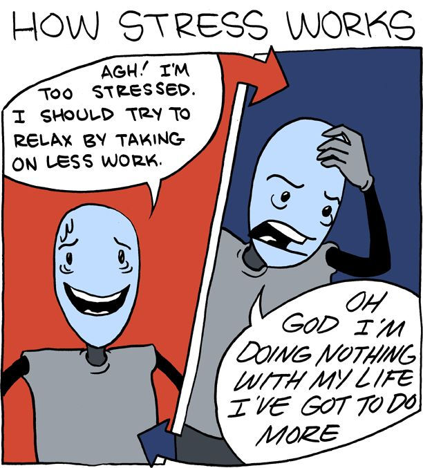 How stress really works...