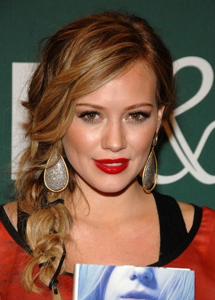 Hilary Duff Hair - LOVE the bronde coloring
