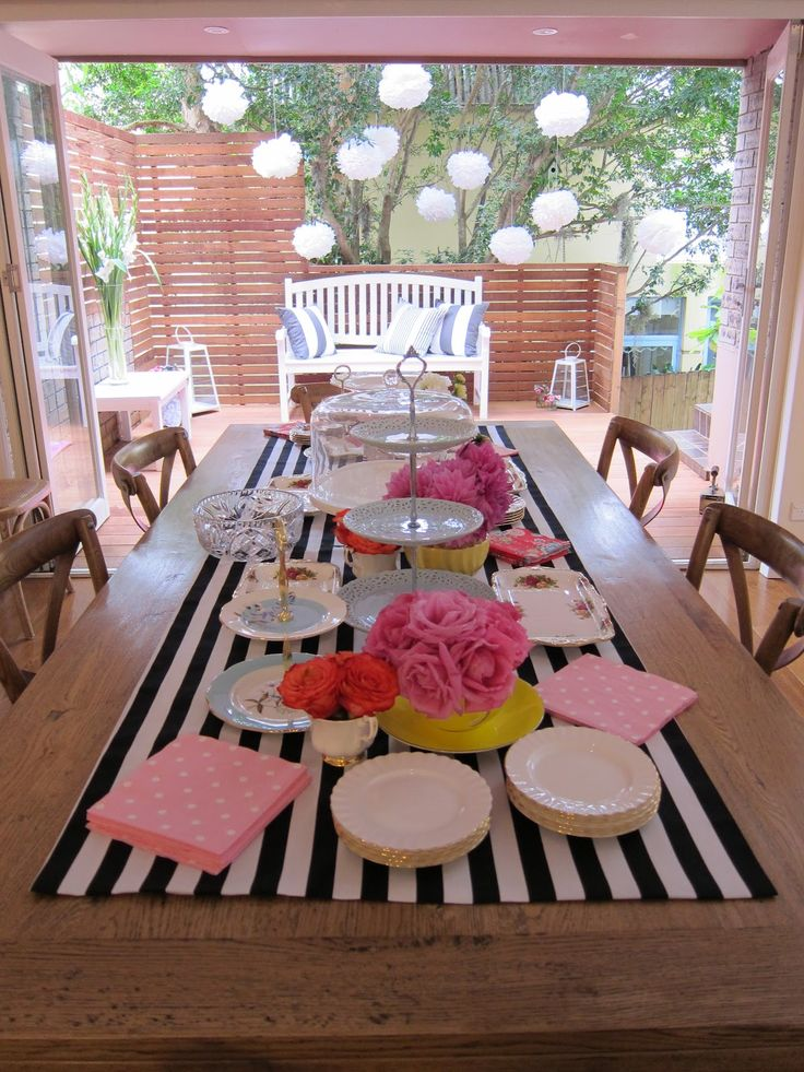 Ladies+Tea+Party+Ideas | once.daily.chic: My Kitchen Tea