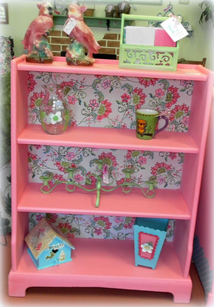 Bubble Gum Pink Bookshelf
