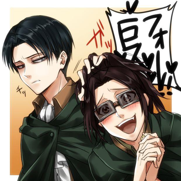 levi and hanji zoe - photo #1