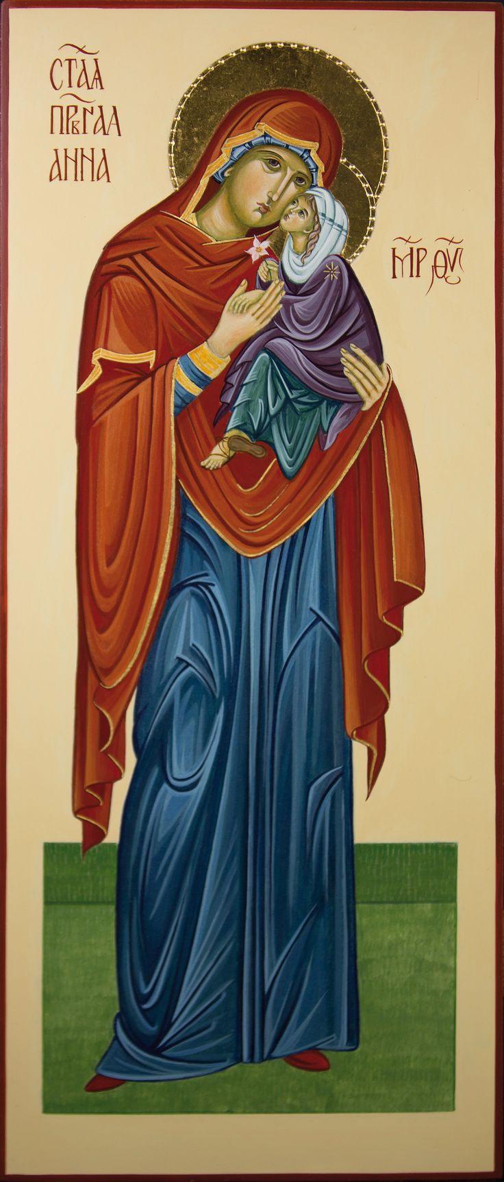 Sant'Anna con Maria per mano di Antonella Pinciroli (Italy)