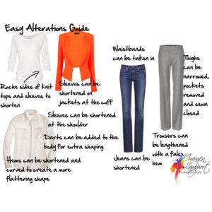 Easy alterations guide