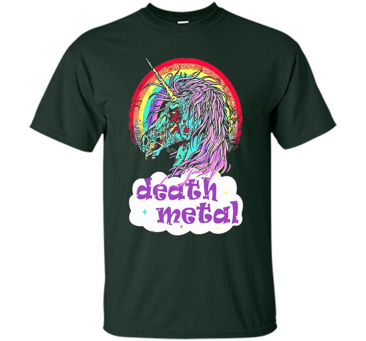 Death Metal Unicorn TShirt
