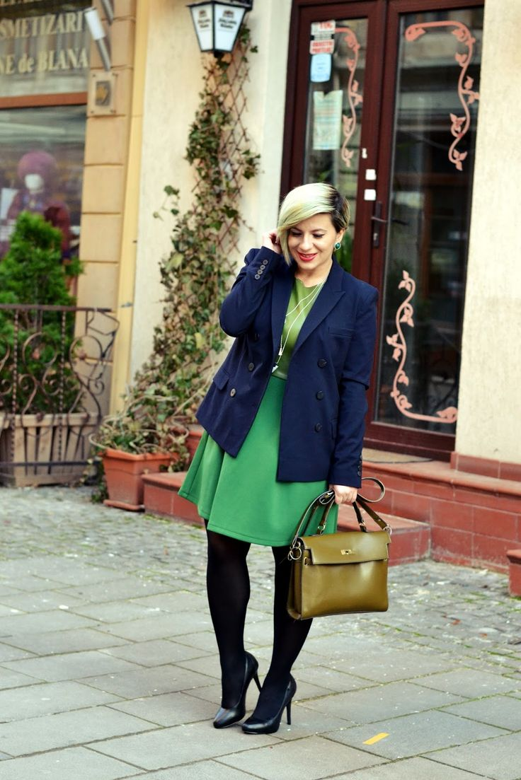 Office outfit with a twist and a few words about a fun experience: LA BOHÈME