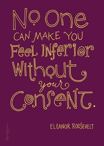 :): Remember This, The Princesses Diaries, Eleanor Roosevelt, Eleanorroosevelt, So True, Smart Woman, Favorite Quotes, Wise Woman, Feelings Inferior