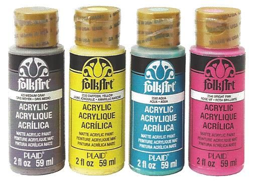 25 best folkart brand products images on pinterest for Wholesale acrylic craft paint