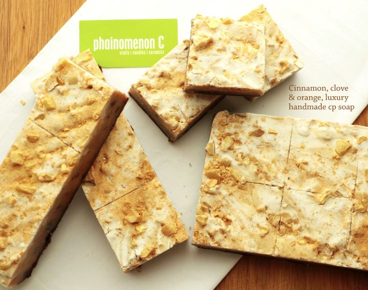 My handmade CP soaps. A nutritious gift for your skin! For more, www.facebook.com/PhainomenonC