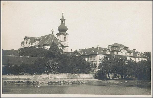 Břevnov - klášter (1935)