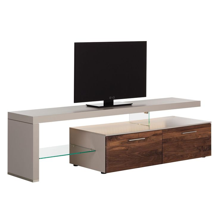 TV-Lowboard Solano I - Mit Beleuchtung - Nussbaum / Platingrau - Mit TV-Bank links Jetzt bestellen unter: https://moebel.ladendirekt.de/wohnzimmer/tv-hifi-moebel/tv-lowboards/?uid=7e9ddc63-7833-5064-bc1d-9a59238aece6&utm_source=pinterest&utm_medium=pin&utm_campaign=boards #tvlowboards #wohnzimmer #tvhifimoebel