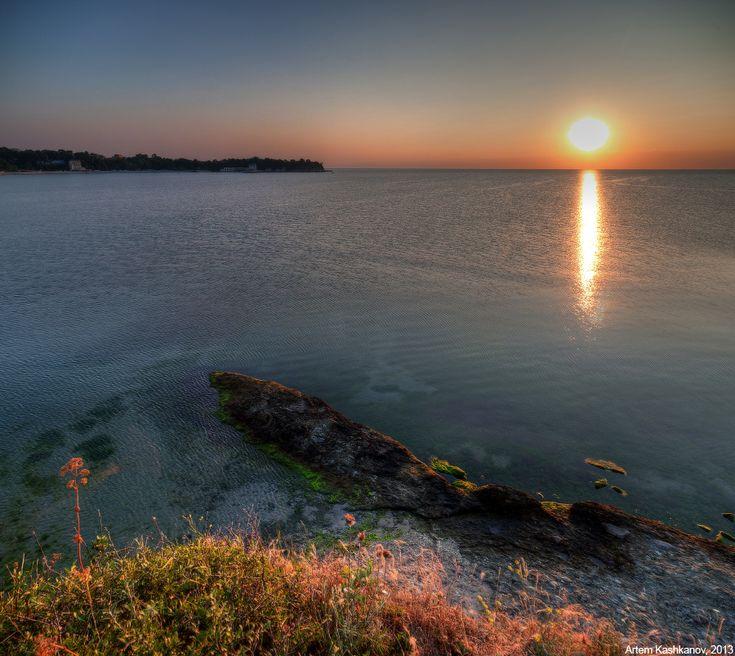 Утро на морском побережье - Красивые летние фотографии