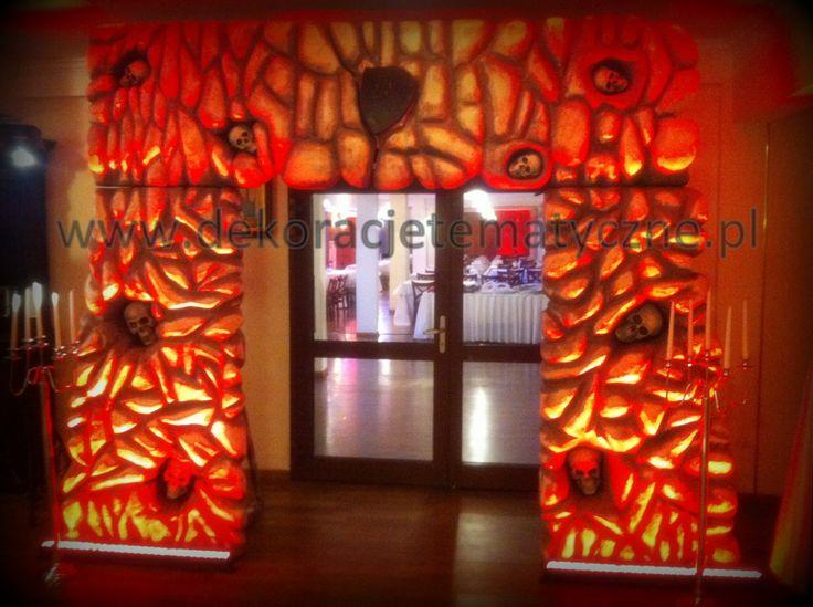 Horror Entranceway / Halloween-Dekoration Verleih / wynajem dekoracji halloween / wynajem dekoracji horror / Horror Party Halloween party / Horror entrance for rent / props hire /