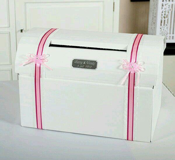 Enveloppen  doos huwelijk