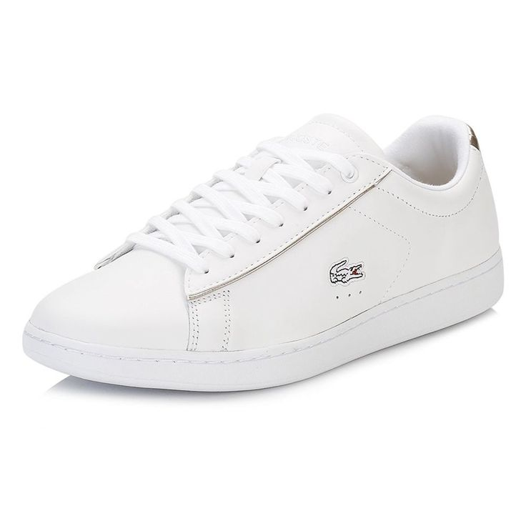 LACOSTE Womens Carnaby Evo 316 1 Leather Fashion Sneakers White US 9  EUR  40.5  | eBay