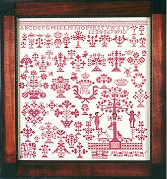 redwork embroidery: Sampler Ideas