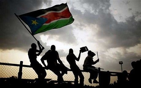 South Sudan! Yay that's where I'm going next summer!!!