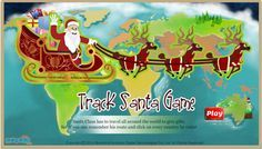 Santa Tracker game for kids! #SantaClaus travels all around the world to give gifts. See if you can remember his route and click on every country he visits! For more interacting #game For #Kids, visit: http://mocomi.com/fun/games/