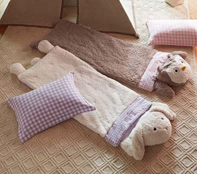 Bolsas para dormir o sleeping bags para niños muy divertidas | Decoracion Endotcom