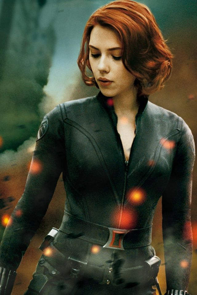 Natasha Romanoff / Black Widow played by Scarlett Johansson in the Avengers