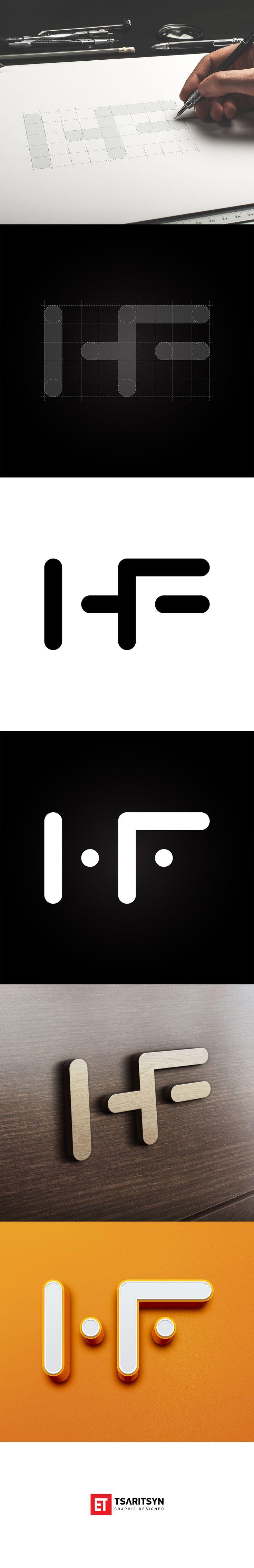 Monogram HF. Tsaritsyn Graphic Designer. Thanks you for watching!