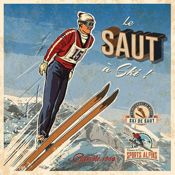 skiing creation Bruno Pozzo © 2014