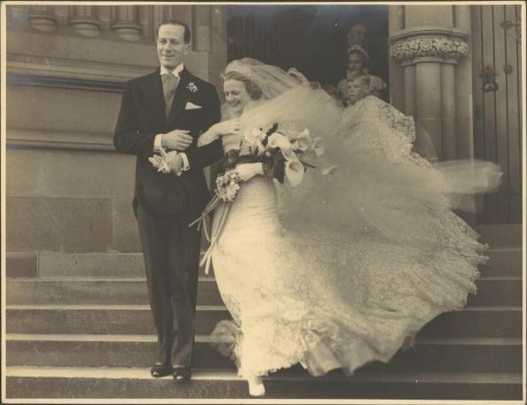 1935 Sydney Wedding Madge Elliott & Cyril Ritchard