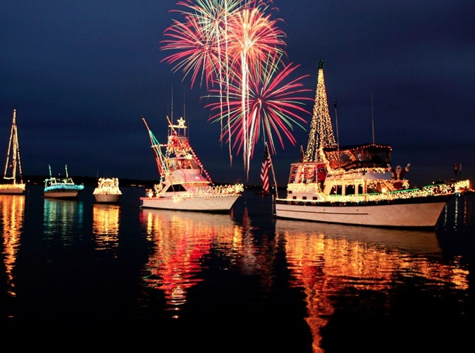 Lake Charles Louisiana Light Up the Lake Event!