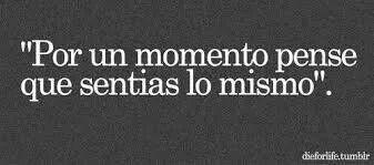 """Por Un Momento """"Duda"""" :("""