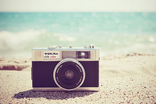 Vintage camera summer beach vintage ocean camera | Sun Surf & Sky ...