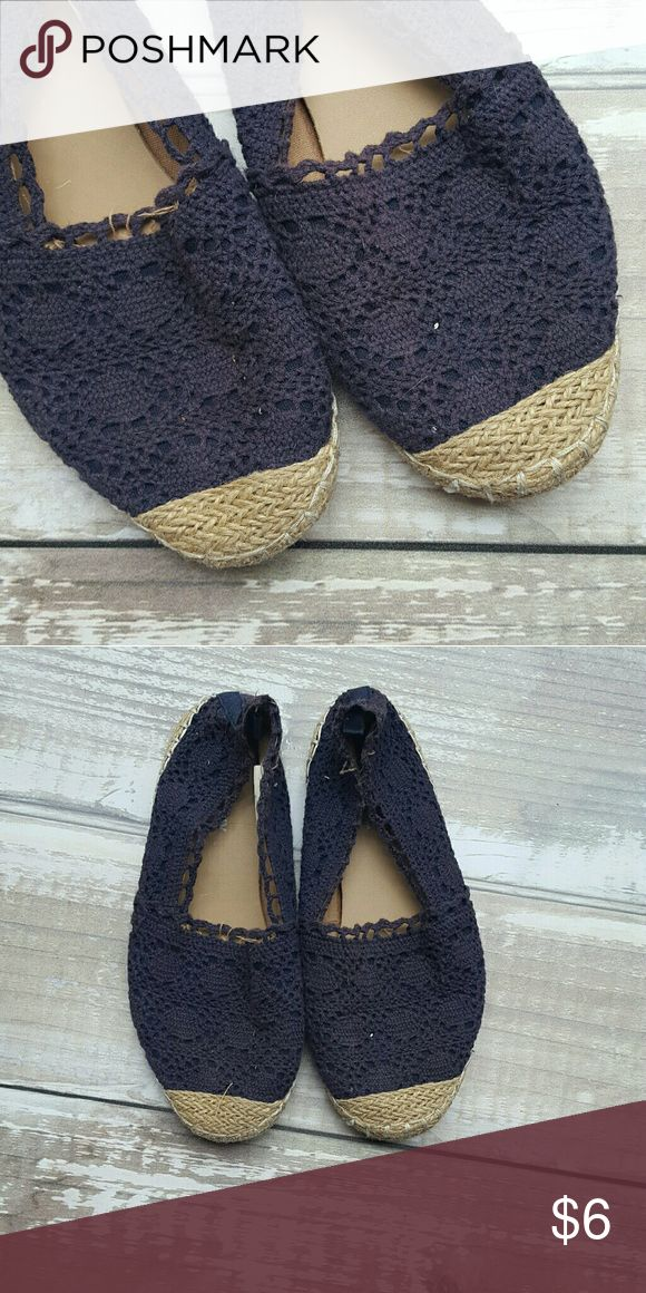 Girls Crochet Flats Girls sz. 4 Old Navy crochet flats   No Trades  No PayPal Old Navy Shoes Sneakers