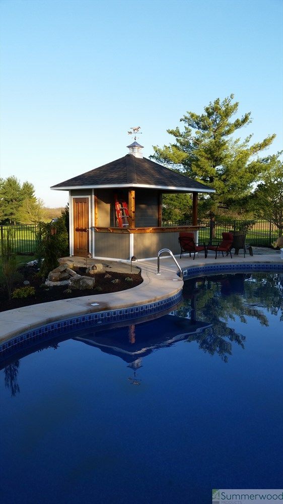 89 Best Pool Cabanas And Pool Houses Images On Pinterest